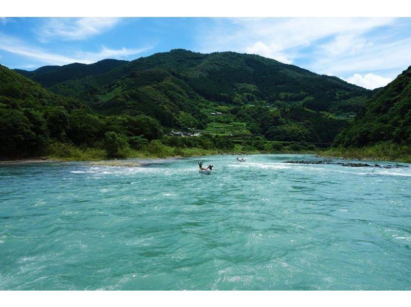 【高知 四万十川 川下り】午後からスタート お手軽川下り半日4kmショートツーリング【カヌー】の紹介画像