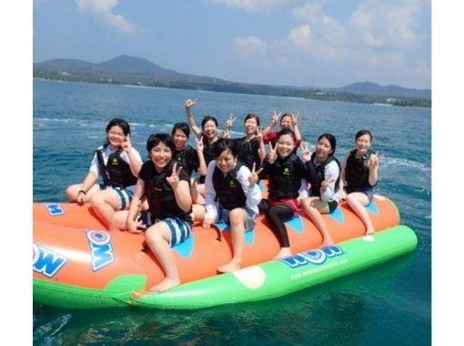 【東海岸プライベートビーチ】海のジェットコースターアクティブマリンバナナボート【トーイングチューブ】