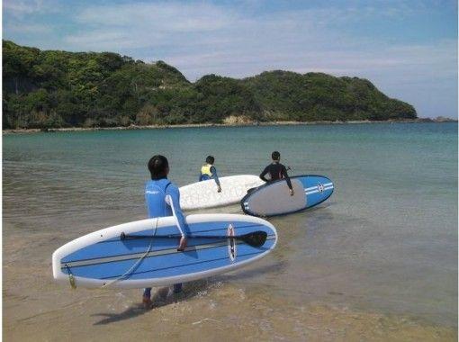 地区通用使用优惠券计划[静冈/伊豆]让我们在水面散步吧! SUP站立桨板体验!の紹介画像
