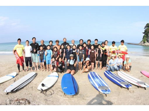 Regional common Use a coupon plan [Shizuoka / Izu] For kids! Surfing private lesson!の紹介画像