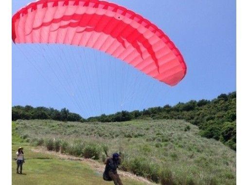 [静岡/伊豆]對教練和天空!半天經驗和雙人飛行課程(半天課程)10歲以上可以の紹介画像