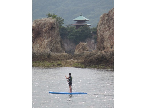 [Ura of Hiroshima and Tomo] Ura SUP beginner experience course [with your sweets] of Tomoの紹介画像