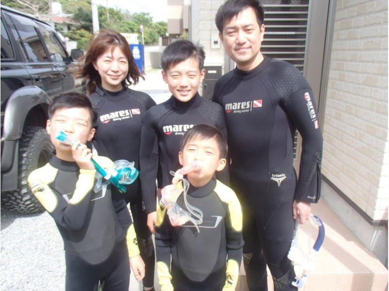 【沖縄・本部町】子供も大人も気軽に海を楽しめて大人気!シュノーケリングコースの紹介画像