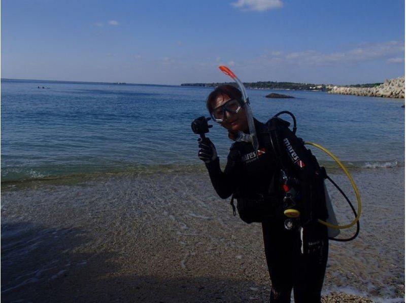 【沖縄・本部町】初心者大歓迎!ライセンス不要の体験ダイビング 【ビーチ・ボート・VIP】の紹介画像