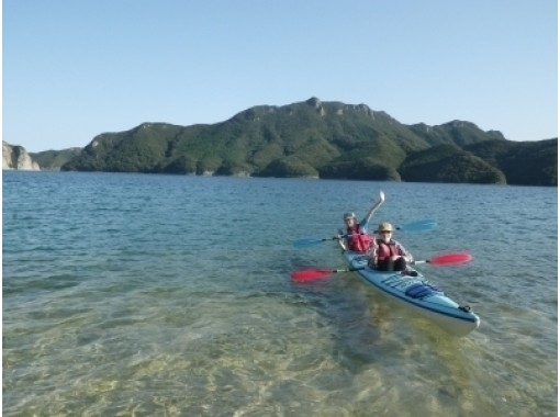 [Tsushima, Asama Bay, for families! ]half-day family· Sea kayak Tour (morning / afternoon)の紹介画像