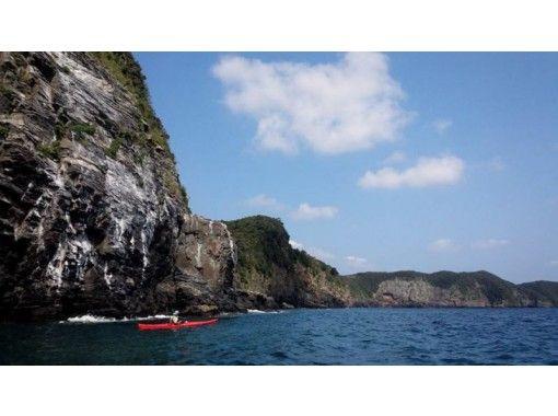 [Tsushima-Asō Bay, very popular! ] Over the walls of ancient Sakimori it was built! 1DAY sea kayak tourの紹介画像