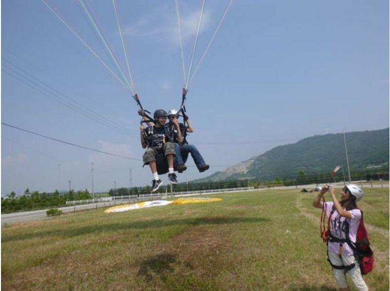 【愛知・初心者向け】Web割!パラグライダー体験タンデム遊覧飛行(半日コース)の紹介画像