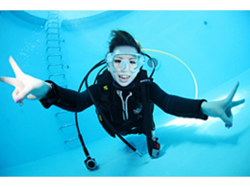 [Aichi ・ Nagoya] Experience in the pool Diving(60 minutes course)