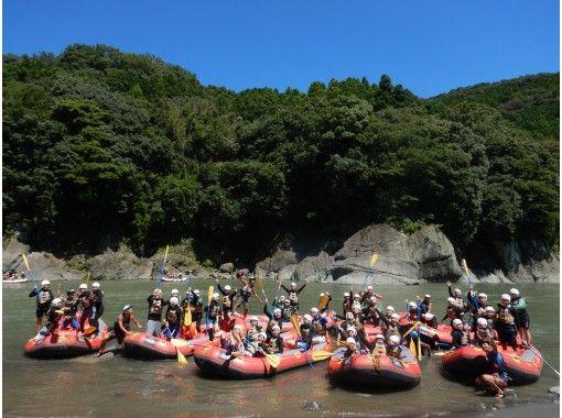 【静岡 富士川 芝川 午前・午後】ラフティング半日ツアー