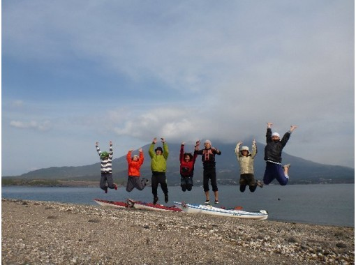 [Kagoshima/Sakurajima]Sea kayak Enjoy with! Lava and desert island 3 hour tour! !の紹介画像