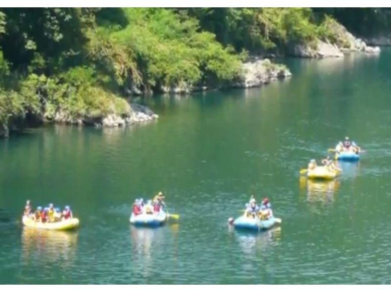 【岐阜/美濃加茂・郡上】スリル満点の激流下り!長良川でラフティングを楽しむ!(半日コース)の紹介画像
