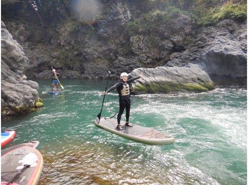 【静岡 富士川  SUP】富士川 スタンドアップパドルツアーの紹介画像