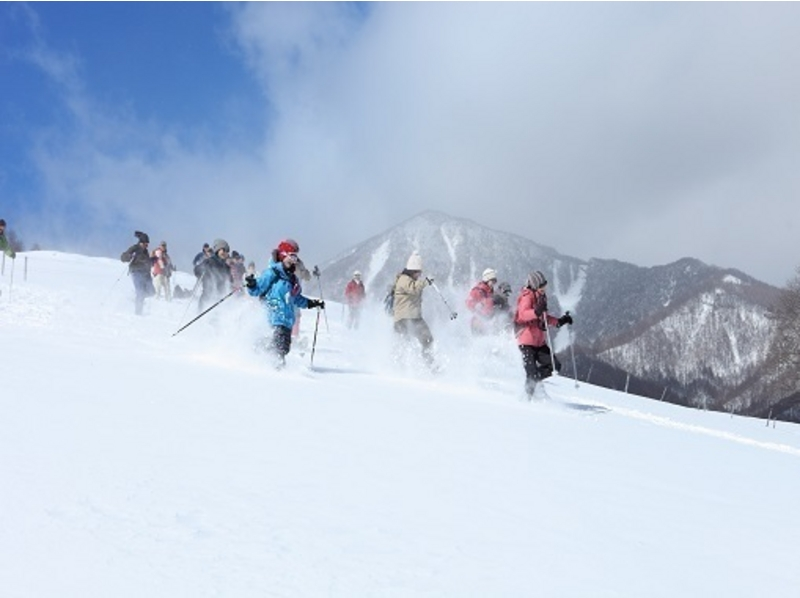 [Yamanashi Yatsugatake] ♪ Introducing the image with snowshoe hiking ※ lunch box