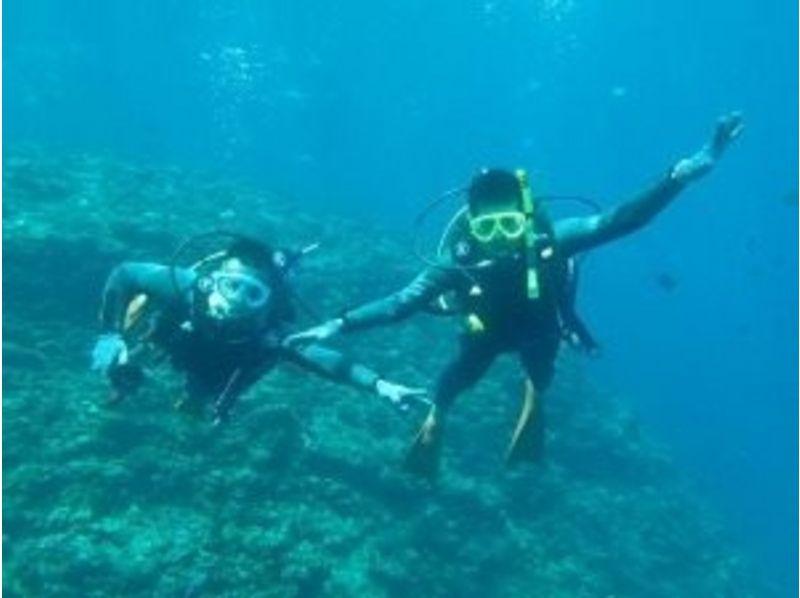 【沖縄・恩納村】体験ダイビング&シュノーケル(青の洞窟コース)の紹介画像
