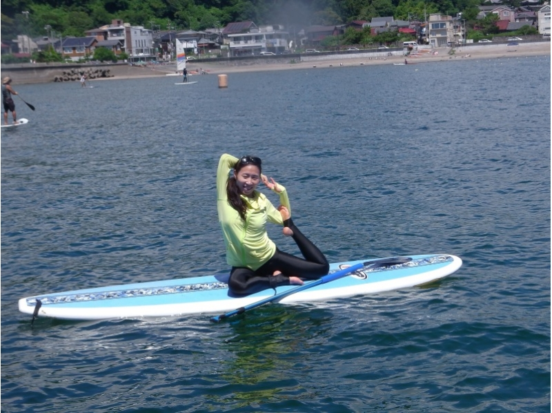 【Shonan · Kamakura for beginners! 】 Introduction image of SUP Experience School (1 hour course) (Photo gift in progress!)