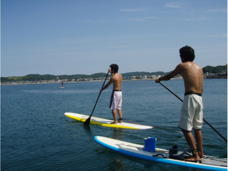 【Kanagawa · Shonan · Kamakura, for beginners】 SUP Experience School 1 hour + tool rental 2 hours course + Introduction picture of photograph gifts