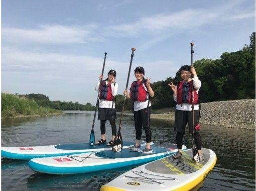 【茨城・御前山】初心者もOK!10km川下りSUPツアーの紹介画像