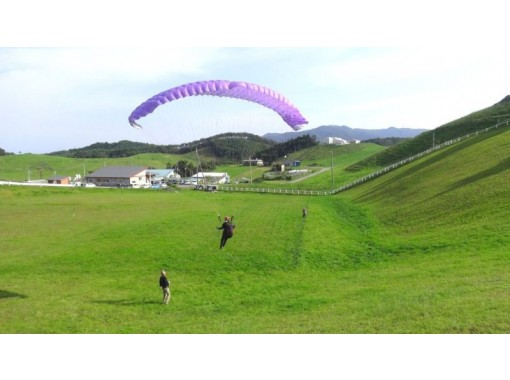 【岩手・一関】初心者歓迎!1人でチャレンジ!パラグライダー体験(半日コース)