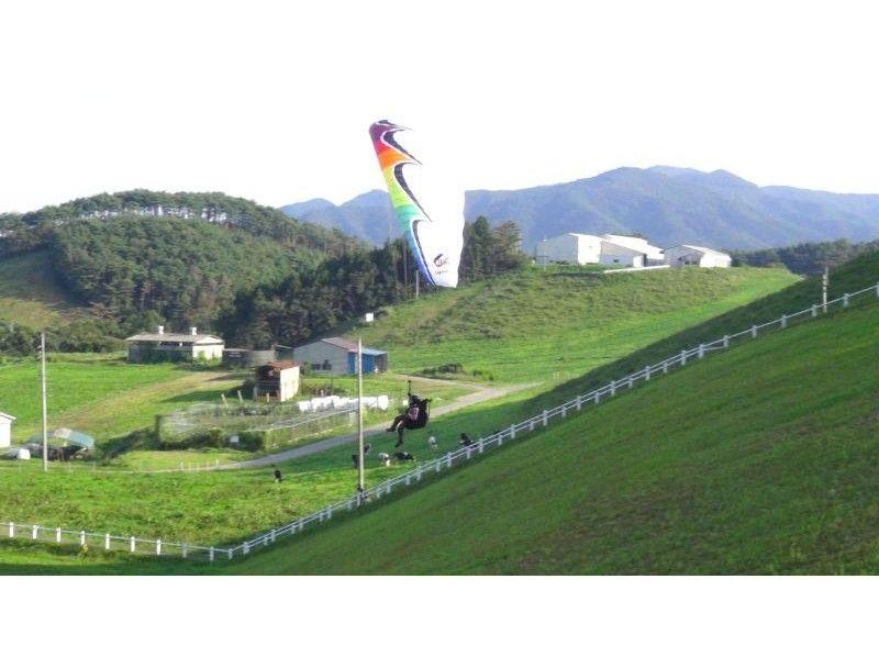 【岩手でパラグライダー】1人でチャレンジ!パラグライダー体験(半日コース)の紹介画像