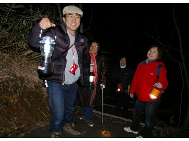 【北海道・登別温泉】暗闇地獄ウォーク ナイトアドベンチャー(地獄谷コース)の紹介画像