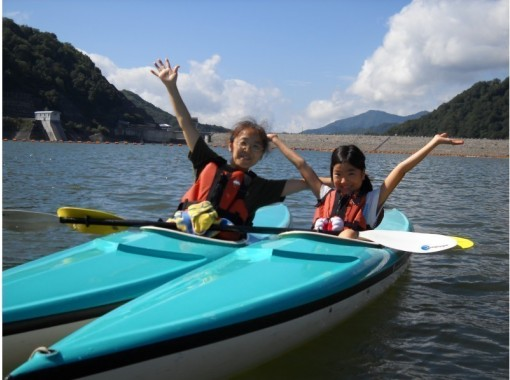[Gunma/ On the water] I can ride from 3 years old! A leisurely canoe tour on the lake half-day) Free photos during the tour!の紹介画像