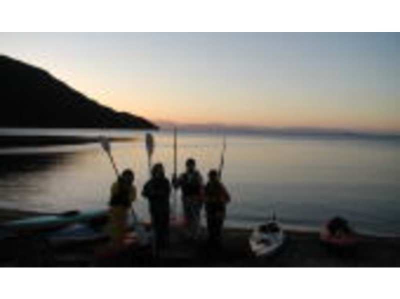 [Gunma / water] early in the morning of the fantastic to the world! Sunrise canoe tour of the introduction image
