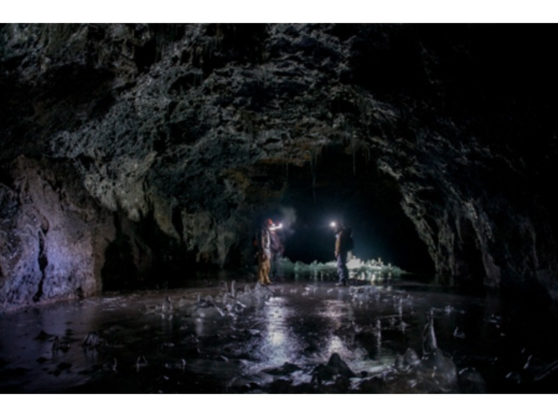 アクティビティジャパン限定!【富士山・洞窟探検!30名様以上】ケイビング学割アドベンチャーツアーの紹介画像