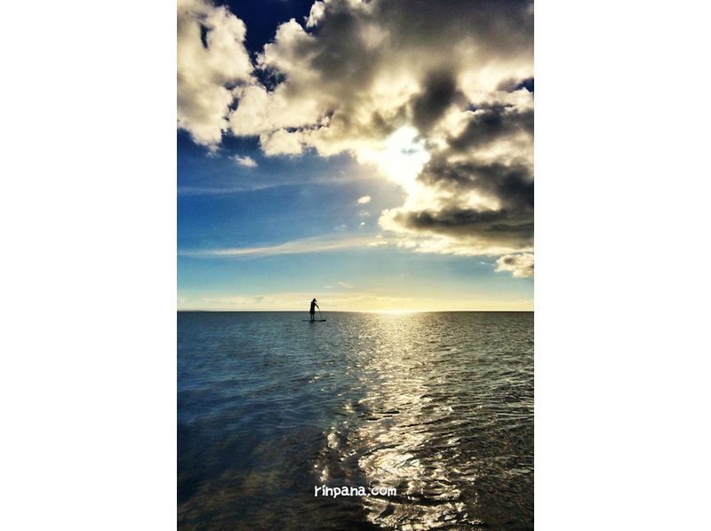 【石垣島】極上の夕日!サンセットSUPツアーの紹介画像