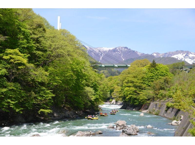 【群馬・水上】ラフティング(半日コース)の紹介画像