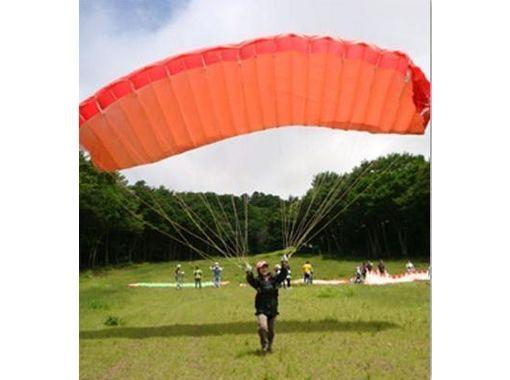 【福島・猪苗代】初心者向け!大空浮遊体験!パラグライダー体験(半日コース)