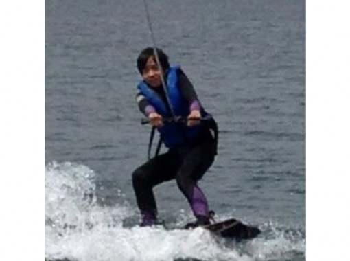 【山梨・山中湖】ウェイクボード体験(エコノミープラン)