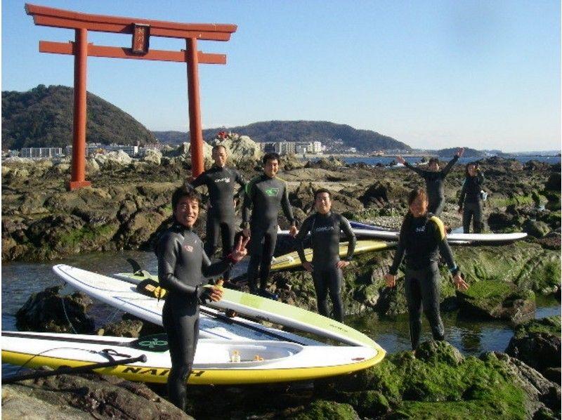 【神奈川・逗子/葉山】SUP(スタンドアップパドルボード)体験(半日コース)の紹介画像