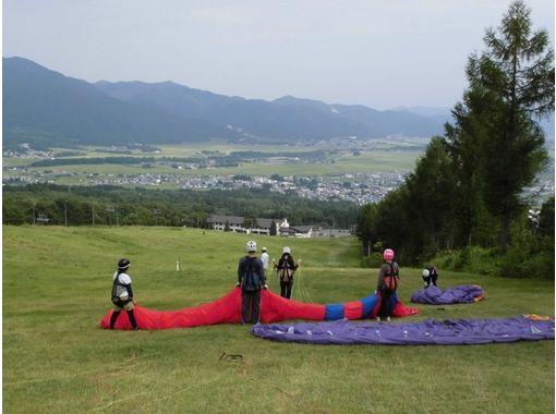 【福島・猪苗代】初心者向け!大空浮遊体験!親子パラグライダー体験(半日コース)