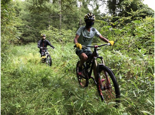 [Nagano Prefecture] (Completely reserved use plan for 2 people) Enjoy the mountains! MTB Guided Tour Within 3 Hours Planの紹介画像