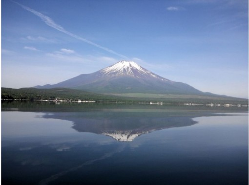 [山梨-Lake Yamanaka]用手滿肚子完成1人(15分鐘×2)計劃的滑水體驗!の紹介画像