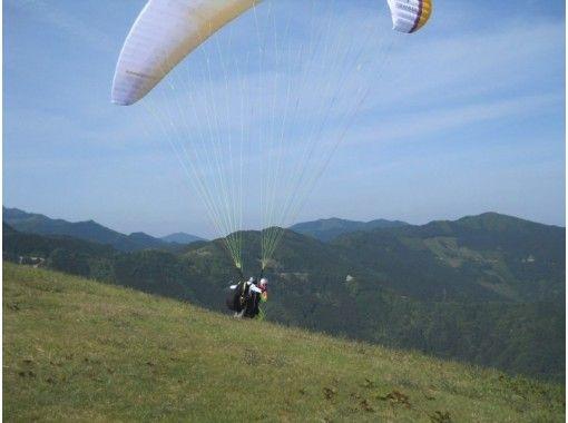 【徳島・西部(吉野川・祖谷渓)】わくわくパラグライダー体験(半日コース)