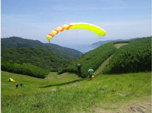 【静岡・熱海】ひとりで飛ぶことにチャレンジ!パラグライダー体験(半日コース)の紹介画像