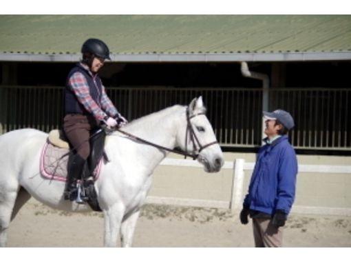 【兵庫/明石・東播磨】平日限定!1対1だから習得が早い!乗馬体験(マンツーマンコース)