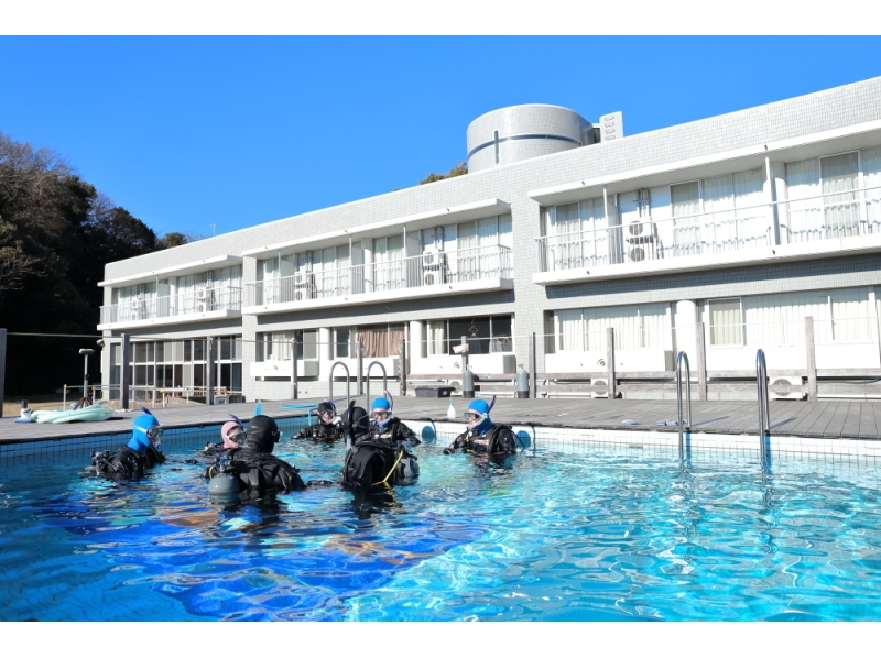 【Kanagawa · Miura · get a diving license on only one day ♪] Introduction picture of a new hobby cheering campaign ♪ to start this year