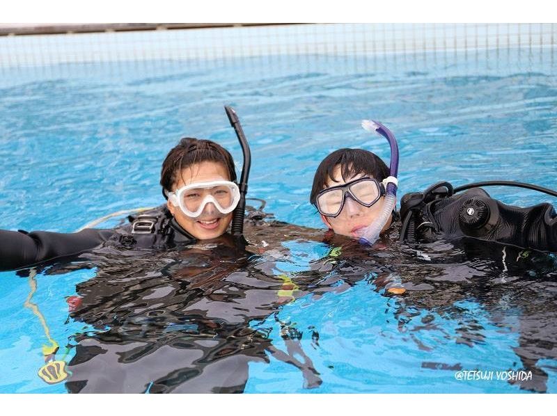 [Kanagawa Miura beginner's welcome! ] Introduction image of PADI course experience dive (one pool)