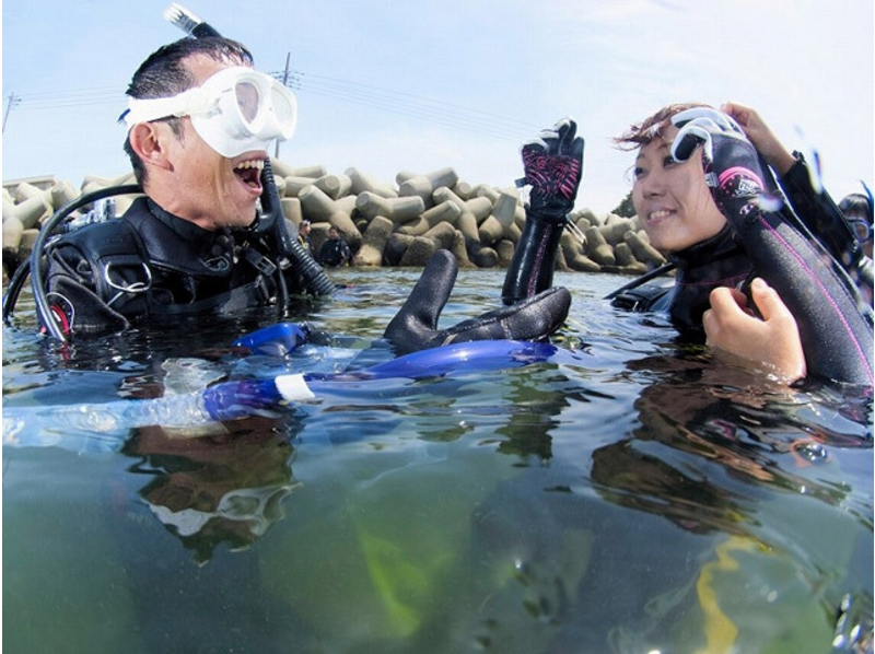 [Kanagawa, Miura First from shallow sea! Beginner's welcome! ] Introduction image of PADI course experience dive (1 Beach)