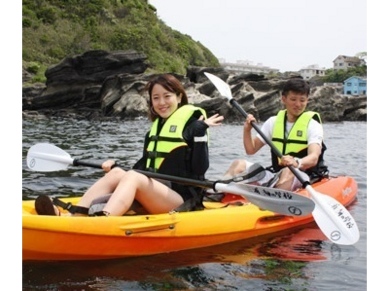 【Kanagawa · Miura · Enjoy with beginners! 】 Introduction image of sea kayak 2 hour rental