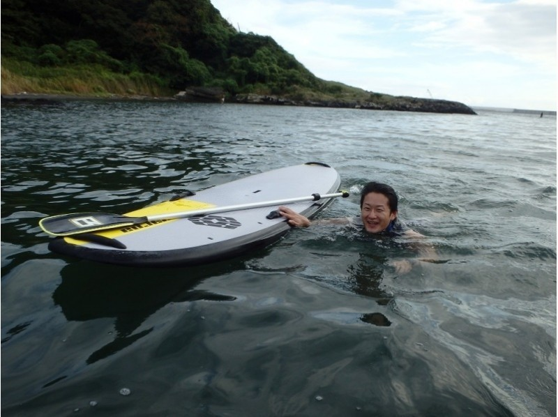 【Kanagawa · Miura · SUP beginners welcome! 】 Let's enjoy the walking on the water easily ♪ Introduction image of ♪