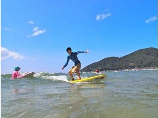【福岡・糸島】NSA公認指導員による少人数制スクール!サーフィン体験(半日コース)