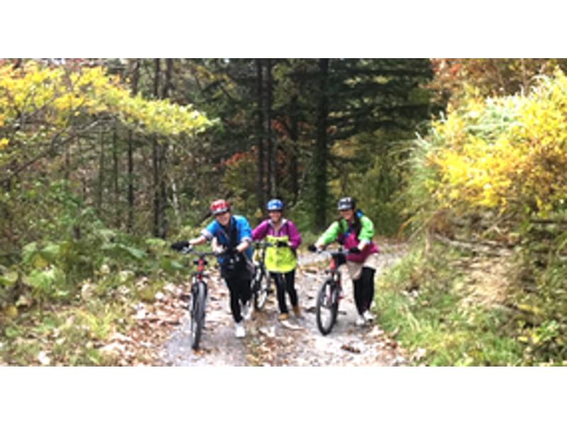 【北海道・支笏湖】MTBサイクリング1日ツアー 支笏湖 MTB(休暇村~モーラップ湖畔コース)の紹介画像