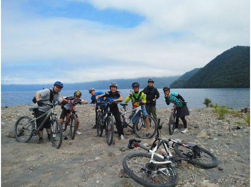【北海道・支笏湖】MTBサイクリング1日ツアー 支笏湖 MTB(休暇村~モーラップ湖畔コース)