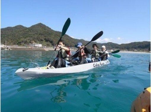 【熊本・天草】初心者でも大丈夫!牛深の美しい海を!カヤック体験ツアー