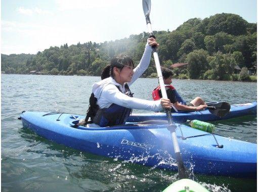 [Nagano ・ Lake Nojiri】 Touring Kayak Lake Nojiri half-day lessonの紹介画像