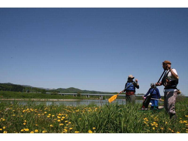 【北海道・中川郡・半日】天塩川カヌートリップの紹介画像