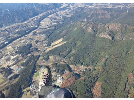【山形・白鷹】インストラクターが操縦の本格フライトのパラグライダータンデム体験コース